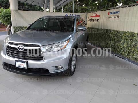Toyota Highlander Limited usado (2016) color Plata precio $390,000