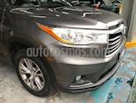 Foto venta Auto usado Toyota Highlander XLE (2015) color Gris Metalico precio $349,000