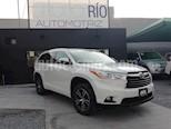 Foto venta Auto usado Toyota Highlander XLE (2016) color Blanco Perla precio $419,000