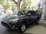 Foto venta Auto usado Toyota Hilux 2.4 4x4 DX TDi SC (2018) color Gris Oscuro precio $1.480.000