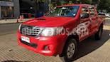 Toyota Hilux 2.5 4X2 Cabina Doble DLX  usado (2015) color Rojo precio $8.000.000