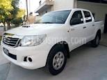 Foto venta Auto usado Toyota Hilux 2.5 4x4 DX SC (2014) color Blanco precio $690.000