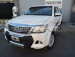Foto venta Auto usado Toyota Hilux 2.7 4x2 SRV DC Cuero (2014) color Blanco precio $790.000