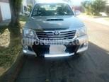 Foto venta Auto usado Toyota Hilux 3.0 4x4 SRV TDi DC Cuero Aut (2012) color Plata precio $850.000