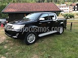 Toyota Hilux 3.0L TD 4x4 CD SRV Aut usado (2015) color Negro precio $3,000
