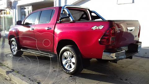 Toyota Hilux 2.8 4x4 SRV TDi DC usado (2017) color Rojo precio $3.850.000