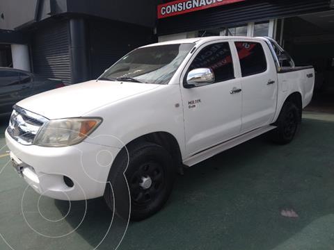 Toyota Hilux 2.5 4x2 DX DC usado (2005) color Blanco precio $1.350.000