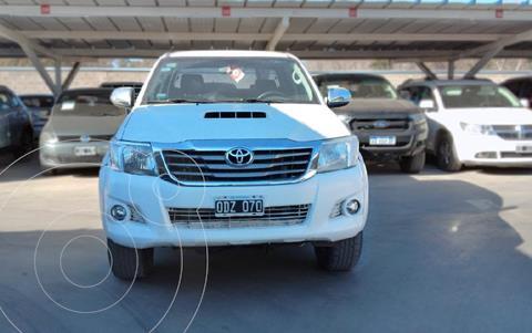 Toyota Hilux 3.0 4x2 SRV TDi DC Cuero usado (2014) color Blanco precio $3.090.000
