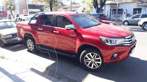 Toyota Hilux 2.8 4x4 SRX TDi DC Aut usado (2017) color Rojo precio $3.580.000