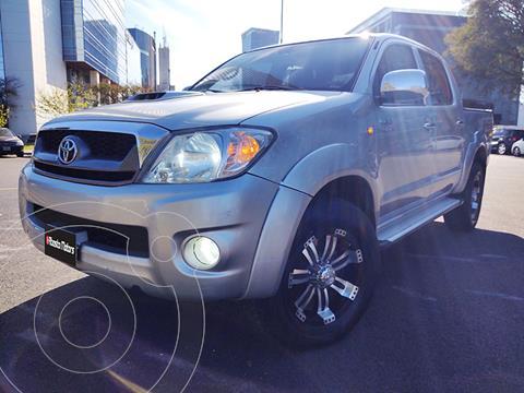 Toyota Hilux 3.0 4x2 SR TDi DC usado (2011) color Plata precio $3.390.000