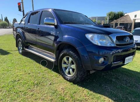 Toyota Hilux 3.0 4x4 SR TDi DC usado (2010) color Azul precio $1.400.000
