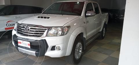 Toyota Hilux 3.0 4x2 SRV TDi DC usado (2013) color Blanco precio $3.090.000