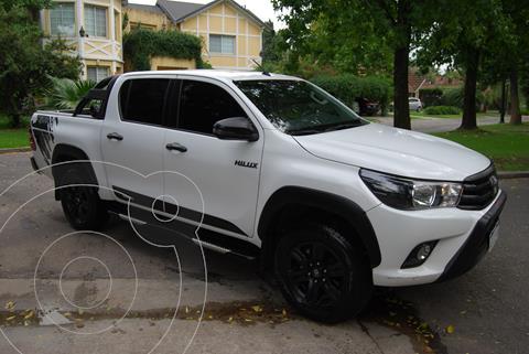 Toyota Hilux 2.8 4x4 SRV TDi DC Aut usado (2018) color Blanco precio $3.850.000