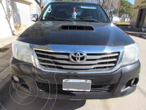 Toyota Hilux 3.0 4x2 SRV TDi DC usado (2012) color Negro precio $3.200.000