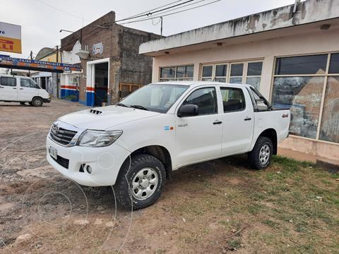 Toyota Hilux 2.5 4x4 DX TDi Pack DC usado (2014) color Blanco precio $2.500.000
