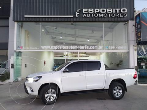 Toyota Hilux 2.8 4x2 SRV Pack TDi DC usado (2017) color Blanco precio $3.800.000