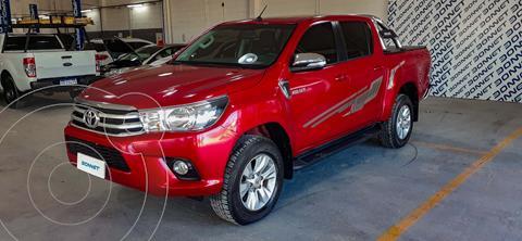 Toyota Hilux 2.8 4x2 SRV Pack TDi DC usado (2017) color Rojo precio $3.900.000