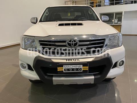 Toyota Hilux 3.0 4x4 SRV TDi DC usado (2014) color Blanco precio $2.690.000