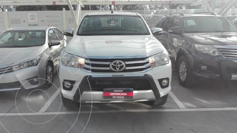 Toyota Hilux 2.8 4x2 SRV TDi DC usado (2017) color Blanco precio $3.970.000