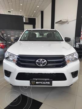 Toyota Hilux 2.4 4x2 DX TDi DC nuevo color Blanco financiado en cuotas(anticipo $1.379.000 cuotas desde $67.000)