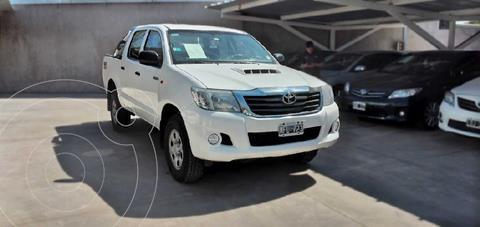 Toyota Hilux 2.5 4x4 DX Pack DC usado (2013) color Blanco precio $2.650.000