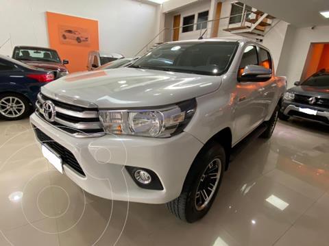 Toyota Hilux 2.8 4x4 SRV TDi DC usado (2016) color Blanco precio $3.400.000