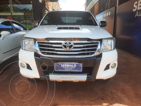 Toyota Hilux 3.0 TDI C/D 4x2 SRV Cuero (163cv) (L09) usado (2012) color Blanco precio $3.550.000