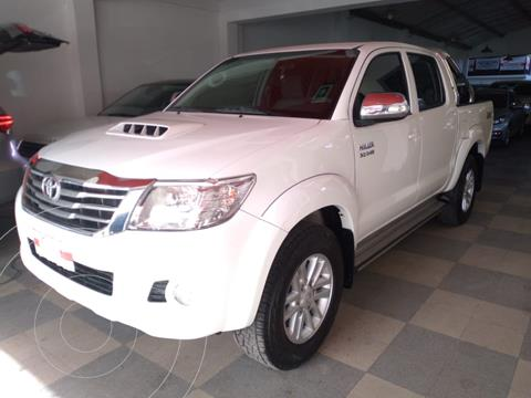 Toyota Hilux 3.0 4x2 SR TDi DC usado (2012) color Blanco precio $3.080.000