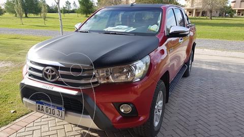 Toyota Hilux 2.8 4x2 SRV TDi DC usado (2016) color Rojo financiado en cuotas(anticipo $2.340.000)