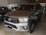 foto Toyota Hilux Cabina Doble DX 2.4 Diesel 4x2 MT6 (150cv) usado (2017) color Gris Plata  precio $1.950.000