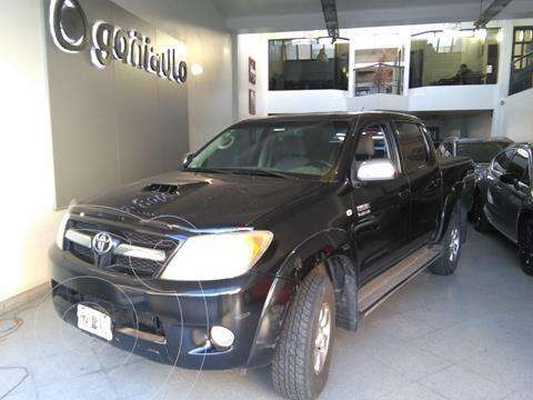 Toyota Hilux 3.0 4x4 SRV TDi DC usado (2008) color Negro precio $2.200.000