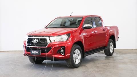 Toyota Hilux 2.8 4x2 SRV TDi DC Aut usado (2019) color Rojo Metalizado precio $5.360.000