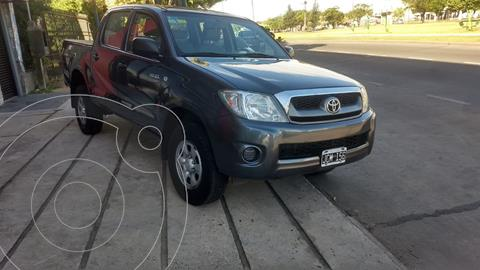 Toyota Hilux 2.5 4x4 DX DC usado (2010) color Gris Oscuro precio $1.850.000