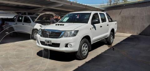 Toyota Hilux 2.5 4x4 DX DC usado (2014) color Blanco precio $2.760.000