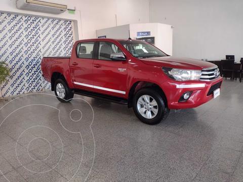 Toyota Hilux 2.8 4x2 SRV TDi DC Aut usado (2018) color Rojo precio $3.950.000