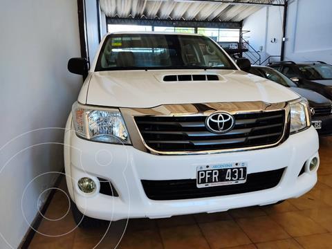 Toyota Hilux 3.0 4x4 SR TDi DC usado (2015) color Blanco precio $2.850.000