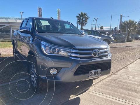 Toyota Hilux 2.8 4x4 SRX TDi DC usado (2016) color Gris Oscuro precio $4.840.000