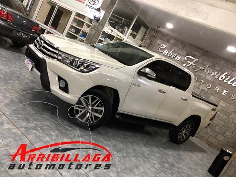 Toyota Hilux 2.8 4x4 SRX TDi DC usado (2016) color Blanco precio $5.070.000
