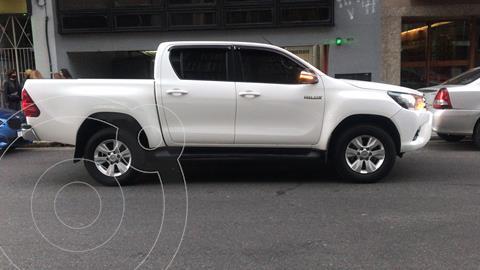 Toyota Hilux 2.8 4x2 SRV TDi DC usado (2016) color Blanco precio $4.200.000