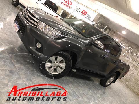 Toyota Hilux 2.8 4x2 SRV Pack TDi DC usado (2016) color Gris precio $3.550.000