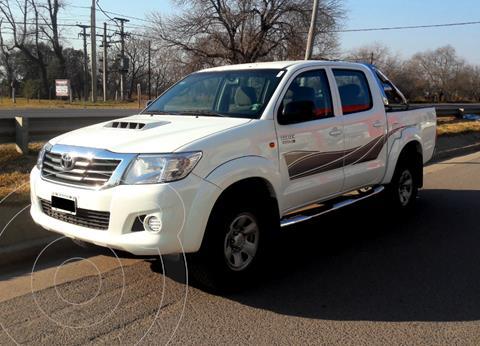 Toyota Hilux 3.0 4x2 SR TDi DC usado (2014) color Blanco precio $2.900.000