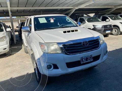 Toyota Hilux 3.0 4x2 SRV TDi DC usado (2012) color Blanco precio $2.790.000