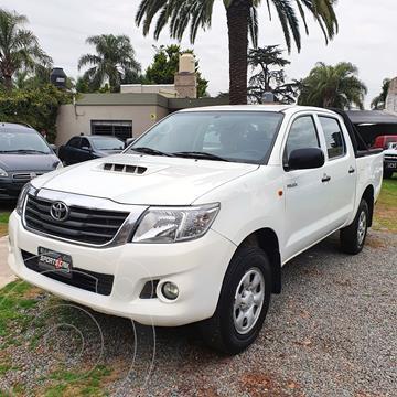 Toyota Hilux 2.5 4x2 DX Pack DC usado (2014) color Blanco precio $2.580.000