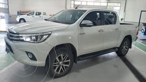 Toyota Hilux 2.8 4x4 SRV TDi DC usado (2016) color Blanco precio $3.590.000