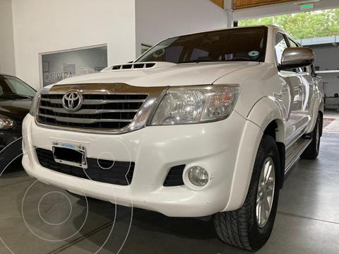Toyota Hilux 3.0 TDI C/D 4x2 SRV Cuero (171cv) (L12) usado (2012) color Blanco precio $2.200.000