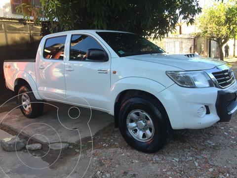 Toyota Hilux 3.0 4x4 SR TDi DC usado (2014) color Blanco precio $2.550.000