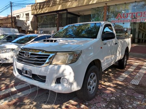 Toyota Hilux 2.4 4x2 DX TDi SC usado (2021) color Blanco precio $1.980.000