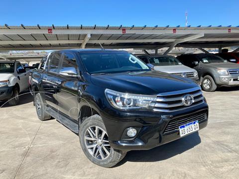 Toyota Hilux 2.8 4x4 SRX TDi DC Aut usado (2017) color Negro precio $3.490.000