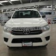Foto venta Auto usado Toyota Hilux Cabina Doble Base (2016) color Blanco precio $278,000