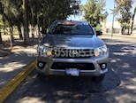 Foto venta Auto usado Toyota Hilux Cabina Doble SR color Plata precio $328,000